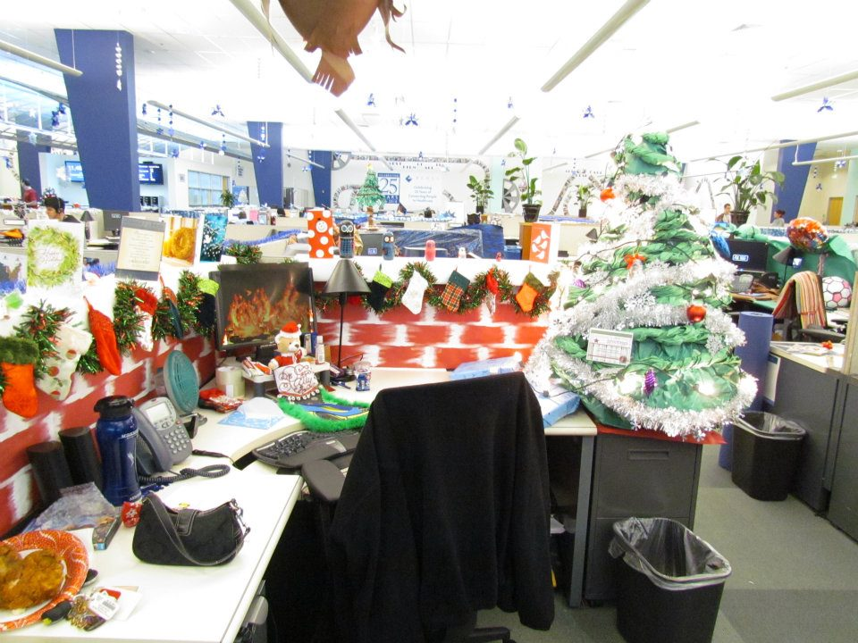 Beryl office at xmas