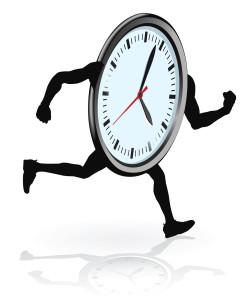 bigstock-Clock-Character-Running-23645549