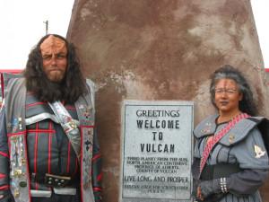 Klingons at sign