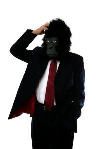 bigstock-Confused-Gorilla-Man-2154196